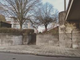 trap naar Gentbruggebrug