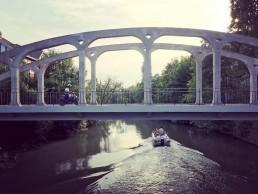 brug over de Oude Leie