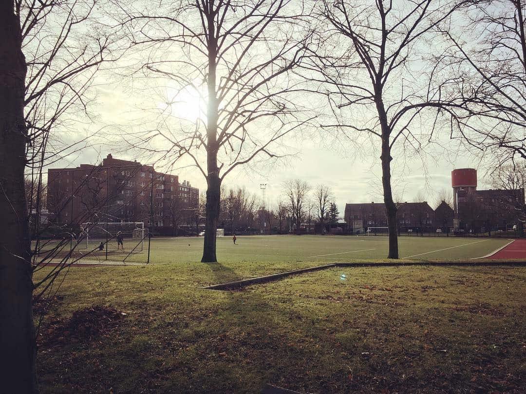 voetbalveld aan Dracunaplein